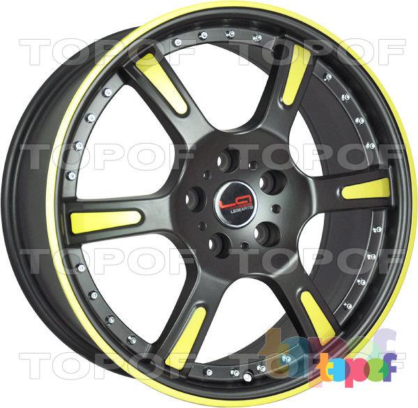 Колесные диски Replica LegeArtis A507. Цвет MB+Y+CR