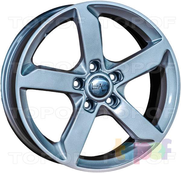Колесные диски Replica LegeArtis A52. Цвет серебристый