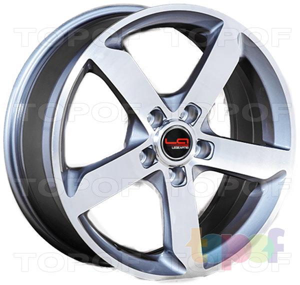Колесные диски Replica LegeArtis A52. Цвет SF (заглушка производителя)