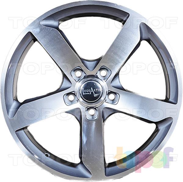 Колесные диски Replica LegeArtis A52. Цвет серебристый полированный