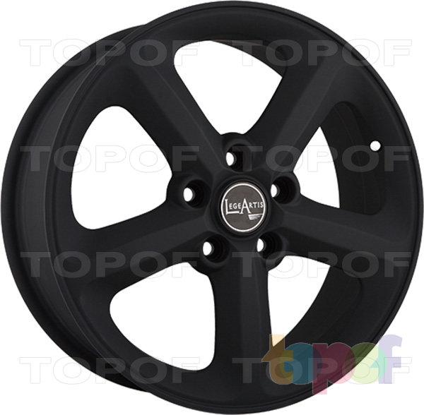 Колесные диски Replica LegeArtis A55. Цвет матовый черный