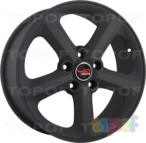 Колесные диски Replica LegeArtis A55. Цвет matte black (заглушка производителя)