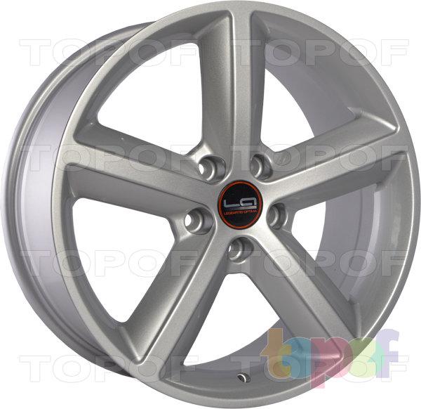 Колесные диски Replica LegeArtis A55. Цвет серебристый