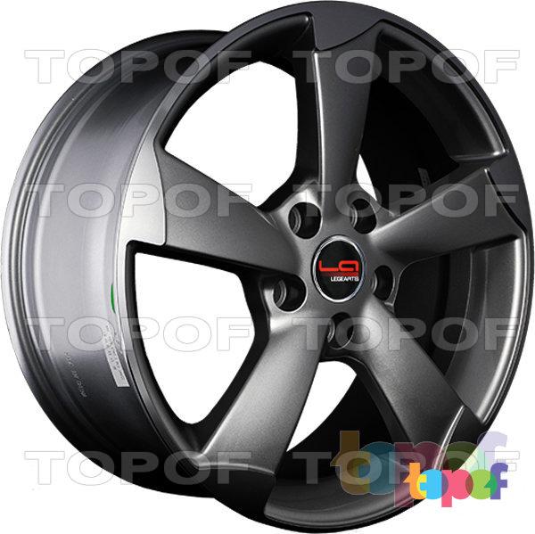 Колесные диски Replica LegeArtis A56. Цвет серый матовый