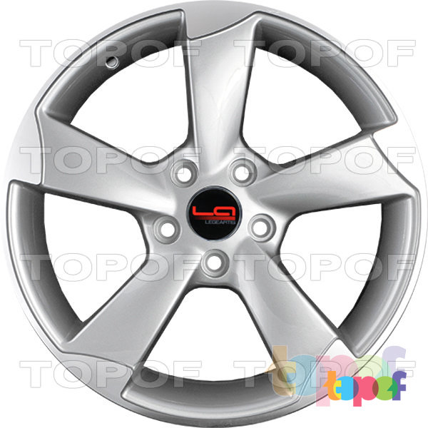 Колесные диски Replica LegeArtis A56. Цвет SF (заглушка производителя)