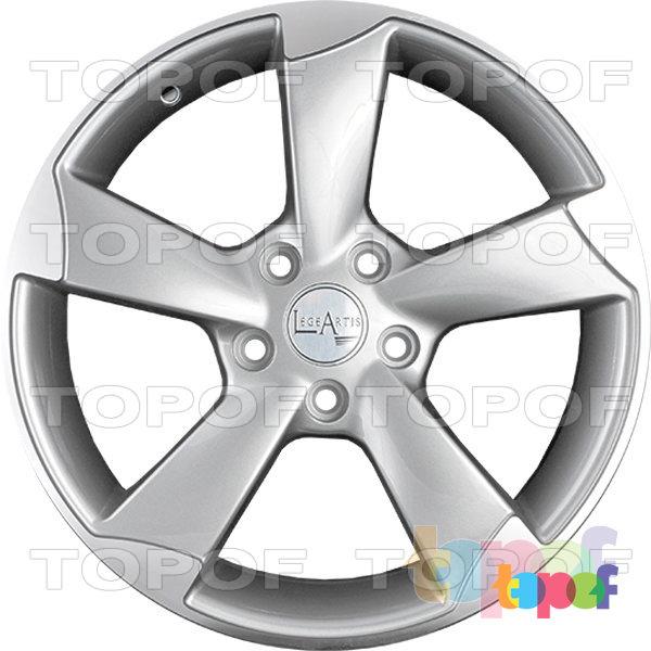 Колесные диски Replica LegeArtis A56. Цвет SF (заглушка бренда авто)