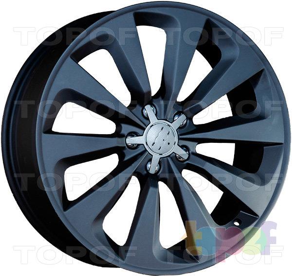 Колесные диски Replica LegeArtis A61. Цвет матовый черный