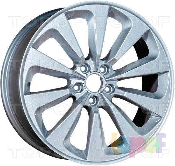 Колесные диски Replica LegeArtis A61. Цвет Silver