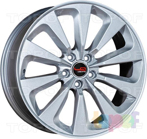 Колесные диски Replica LegeArtis A61. Цвет серебристый с заглушкой производителя