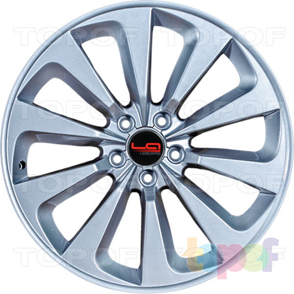 Колесные диски Replica LegeArtis A61. Цвет silver (заглушка производителя)
