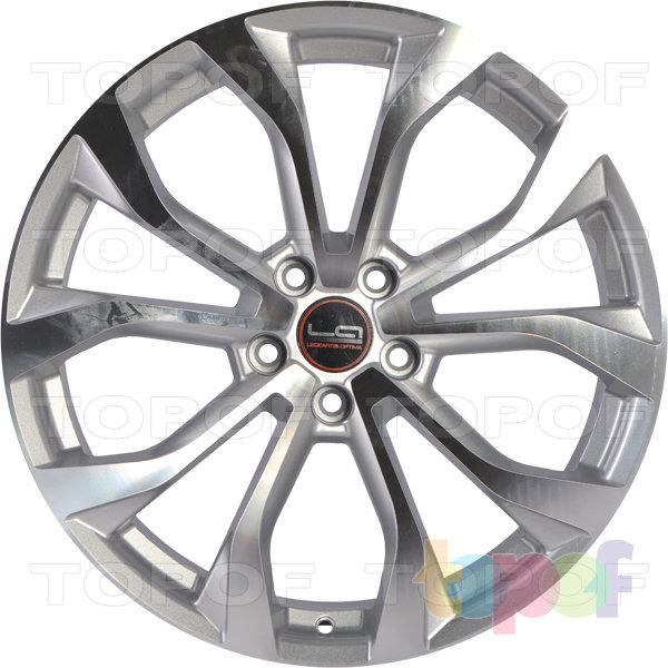 Колесные диски Replica LegeArtis A69. Цвет серебристый полированный