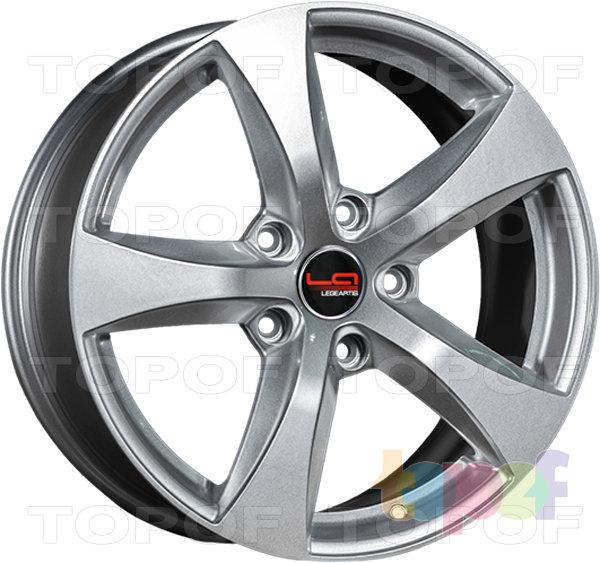 Колесные диски Replica LegeArtis A70. Цвет серебристый (заглушка производителя)