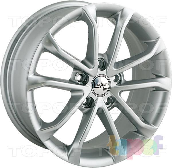 Колесные диски Replica LegeArtis A71. Цвет Silver