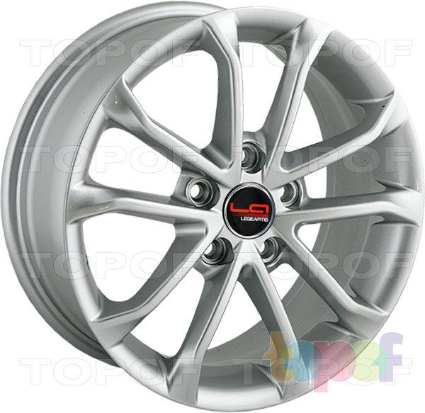 Колесные диски Replica LegeArtis A71. Цвет серебристый (заглушка производителя)