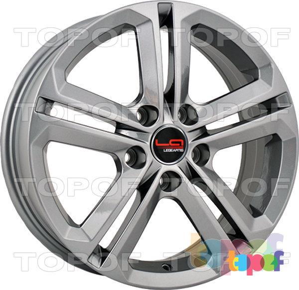 Колесные диски Replica LegeArtis A74. Цвет серебристый (заглушка производителя)