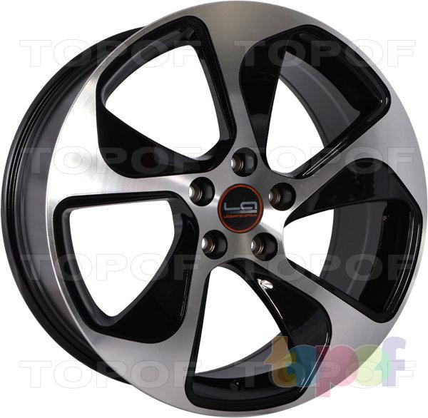 Колесные диски Replica LegeArtis A76. Цвет BKF