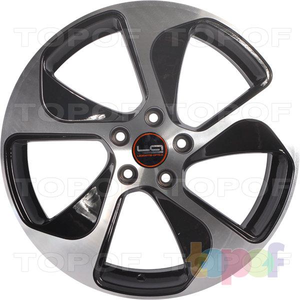 Колесные диски Replica LegeArtis A76. Цвет черный полированный (BKF)