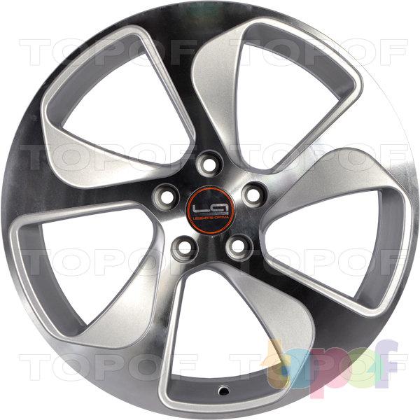Колесные диски Replica LegeArtis A76. Цвет серебристый полированный