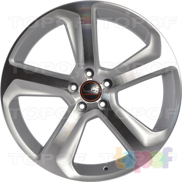 Колесные диски Replica LegeArtis A78. Цвет серебристый полированный