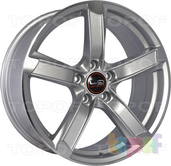 Колесные диски Replica LegeArtis A79. Цвет серебристый полированный