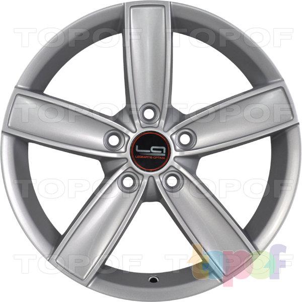 Колесные диски Replica LegeArtis A90. Цвет серебристый