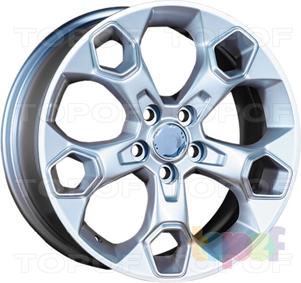 Колесные диски Replica LegeArtis FD17. Изображение модели #1
