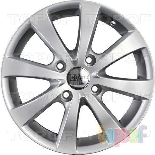 Колесные диски Replica LegeArtis GM40. Изображение модели #3