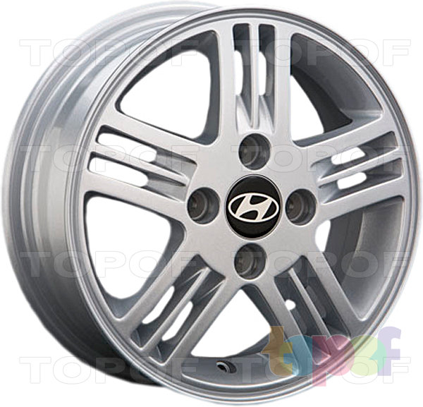 Колесные диски Replica LegeArtis HND27. Изображение модели #1