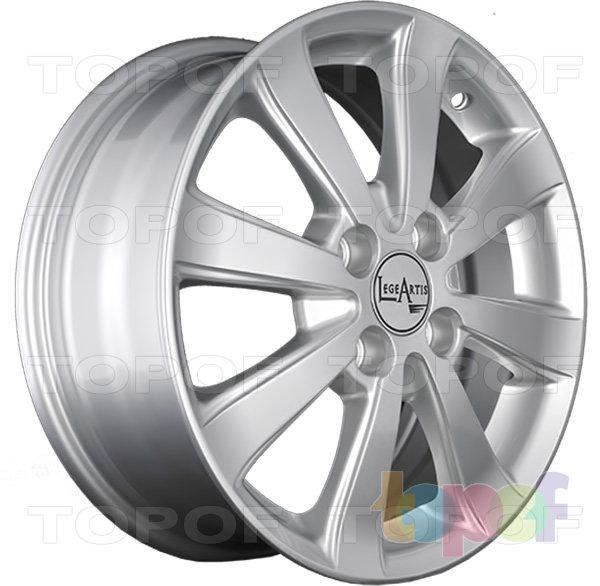 Колесные диски Replica LegeArtis KI46. Изображение модели #5
