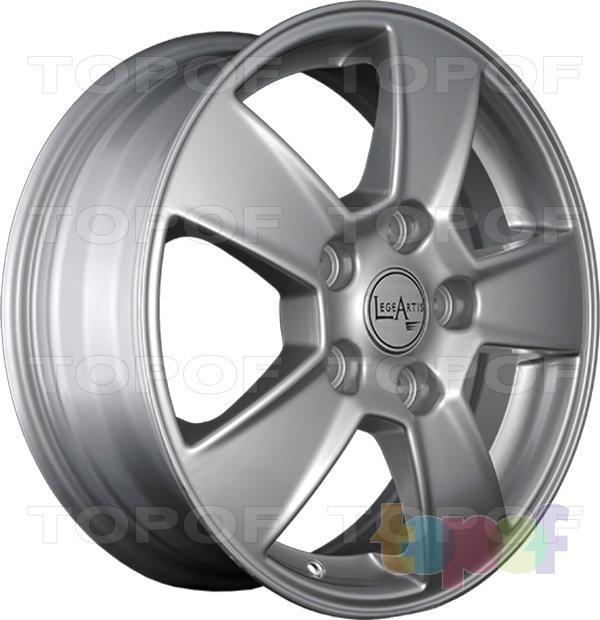 Колесные диски Replica LegeArtis KI50. Изображение модели #4