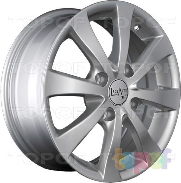Колесные диски Replica LegeArtis KI51. Изображение модели #4