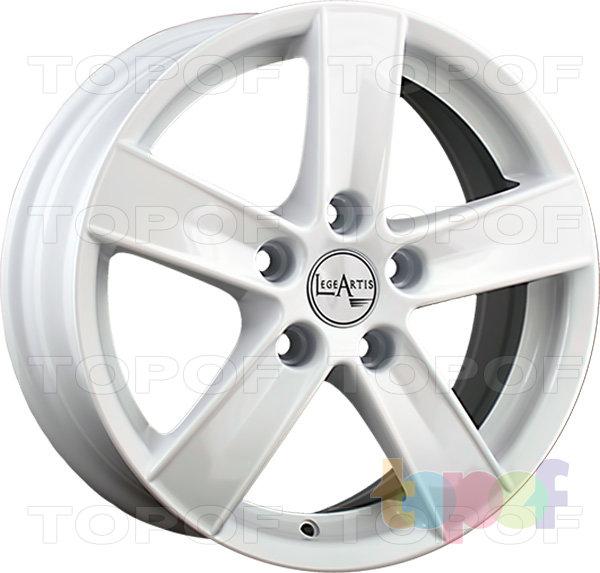 Колесные диски Replica LegeArtis MI25. Изображение модели #6