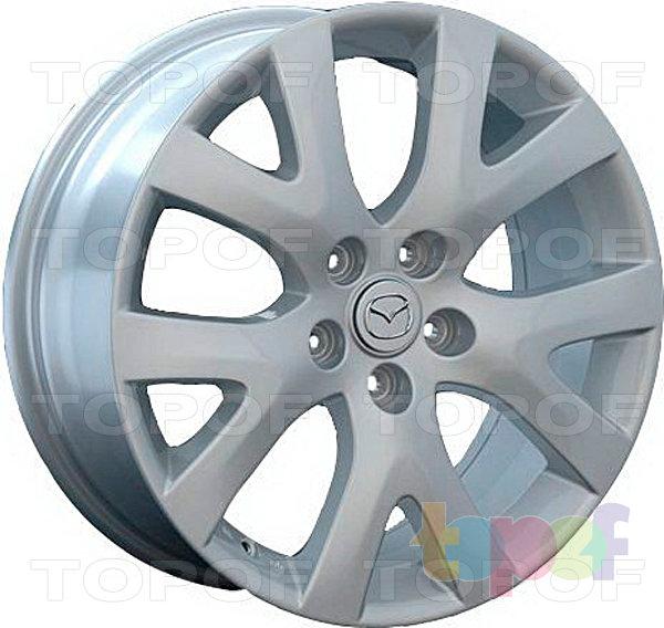 Колесные диски Replica LegeArtis MZ33. Изображение модели #1