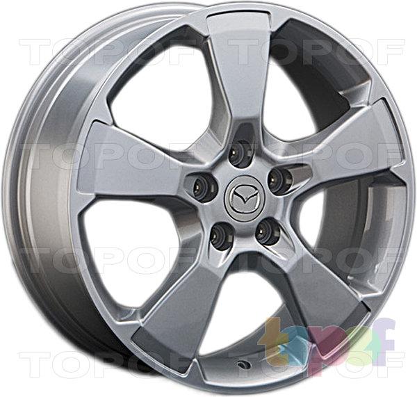 Колесные диски Replica LegeArtis MZ36. Изображение модели #1