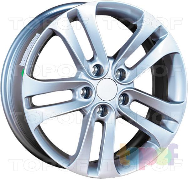 Колесные диски Replica LegeArtis MZ49. Изображение модели #7