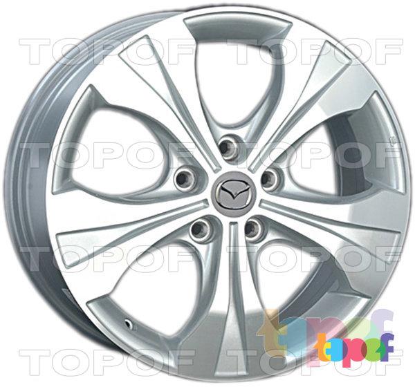 Колесные диски Replica LegeArtis MZ50. Изображение модели #1