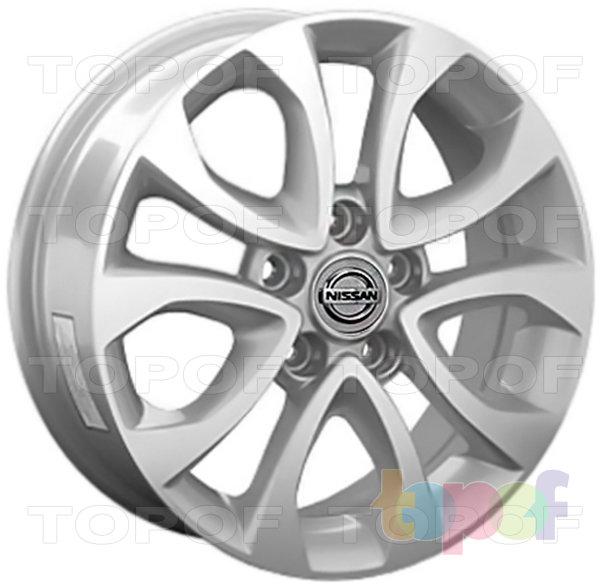 Колесные диски Replica LegeArtis NS102. Изображение модели #1
