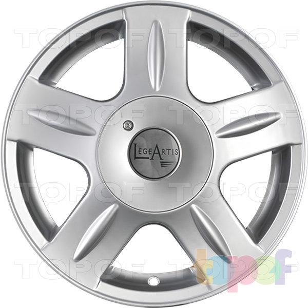 Колесные диски Replica LegeArtis NS117. Изображение модели #2