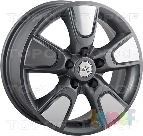 Колесные диски Replica LegeArtis NS25. Изображение модели #4