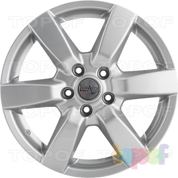 Колесные диски Replica LegeArtis NS49. Изображение модели #4