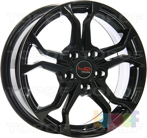 Колесные диски Replica LegeArtis NS505. Изображение модели #1