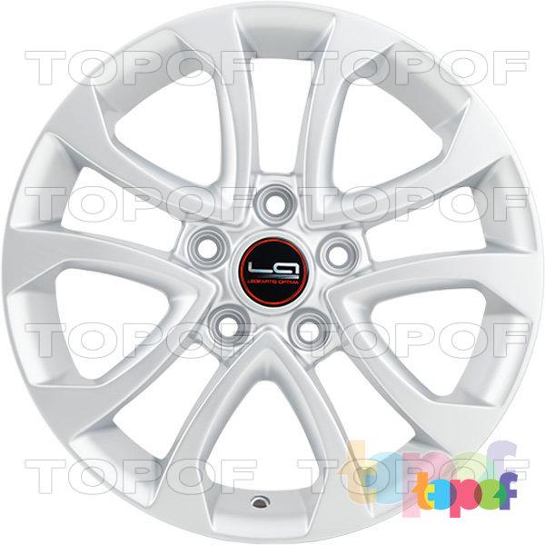 Колесные диски Replica LegeArtis NS62. Изображение модели #7