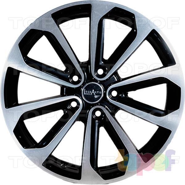 Колесные диски Replica LegeArtis NS69. Изображение модели #3