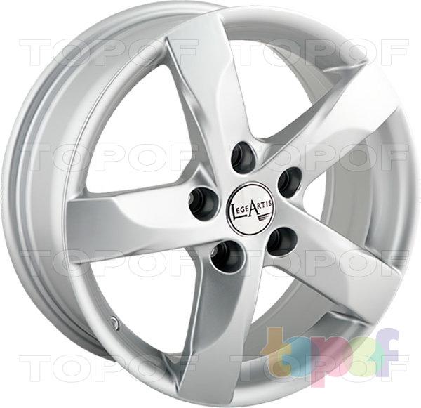 Колесные диски Replica LegeArtis NS80. Изображение модели #6