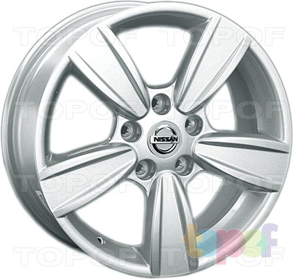 Колесные диски Replica LegeArtis NS99. Изображение модели #1