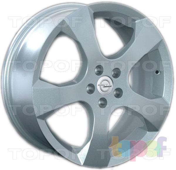 Колесные диски Replica LegeArtis OPL27. Изображение модели #1