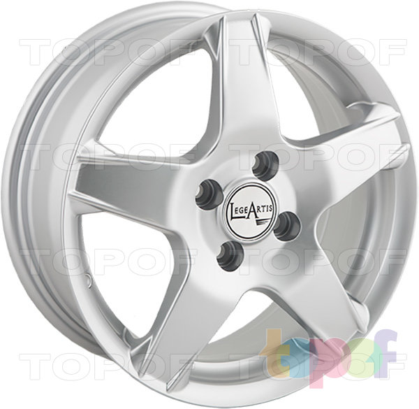 Колесные диски Replica LegeArtis OPL40. Изображение модели #4