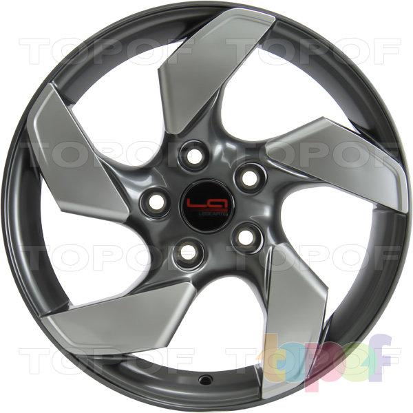 Колесные диски Replica LegeArtis OPL506. GM + plastic