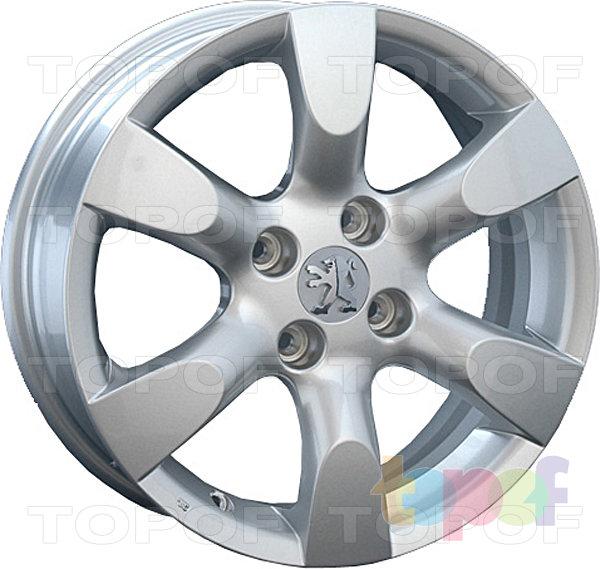 Колесные диски Replica LegeArtis PG19. Изображение модели #1