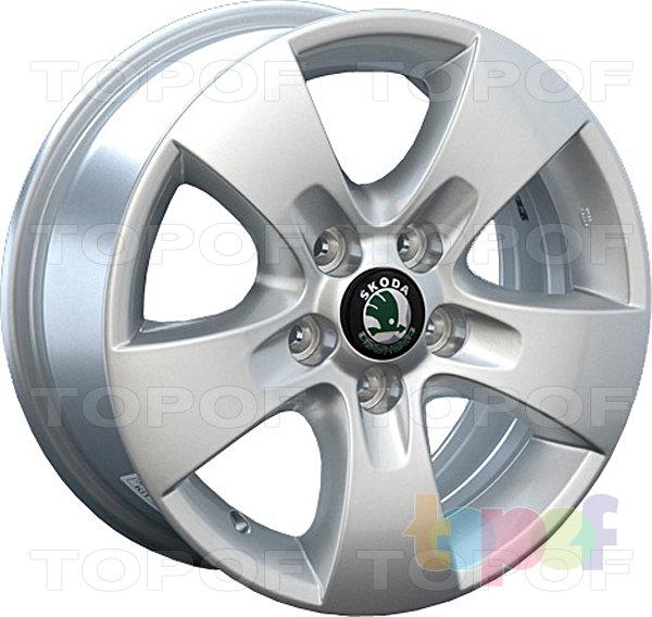 Колесные диски Replica LegeArtis SK10. Изображение модели #1